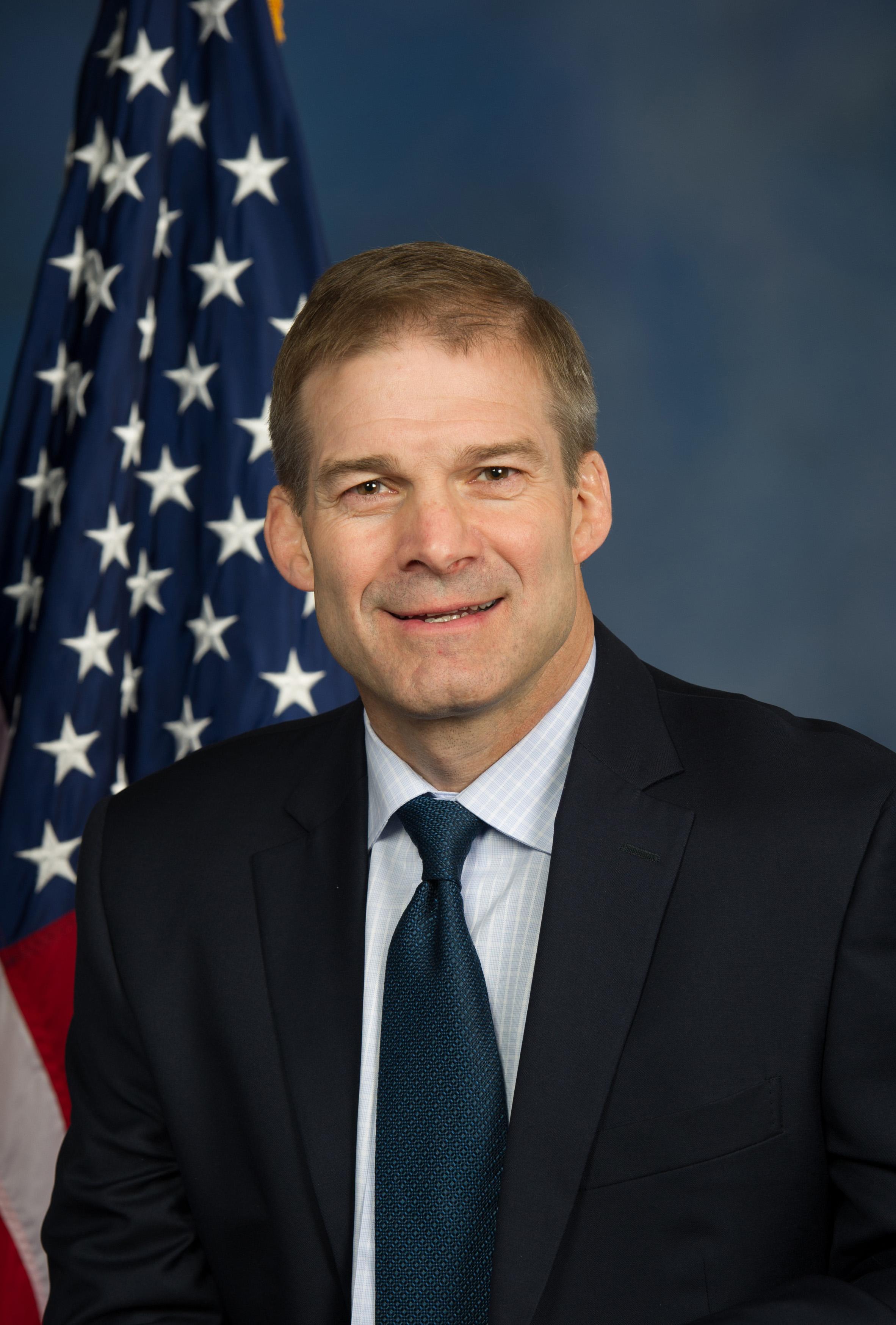 Rep. Jim Jordan (official Headshot)